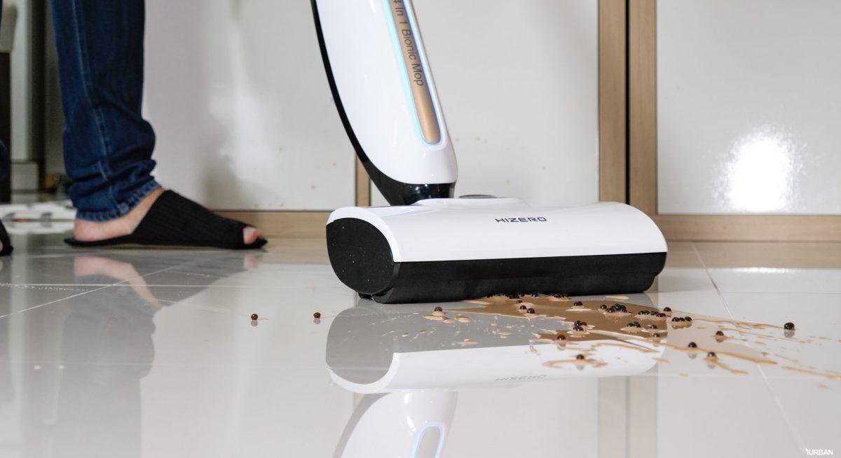 รีวิว Hizero Bionic 4-in-1 เครื่องดูดฝุ่นดูดน้ำสุดไฮเทค เก็บชาไข่มุกหก-จนพื้นแห้งในปรื๊ดเดียว 36 - Hizero