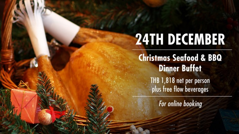 CHRISTMAS SEAFOOD BUFFET DINNER AT CUISINE UNPLUGGED, PULLMAN BANGKOK KING POWER 13 -