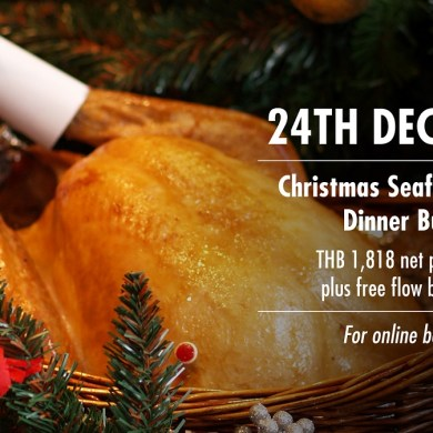 CHRISTMAS SEAFOOD BUFFET DINNER AT CUISINE UNPLUGGED, PULLMAN BANGKOK KING POWER 15 -