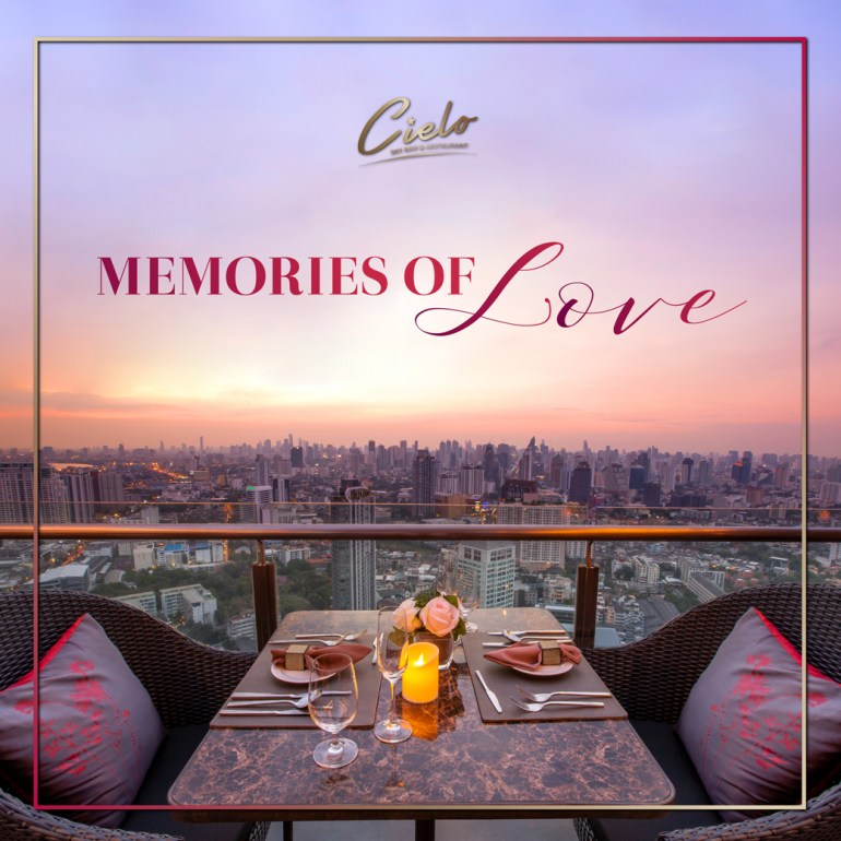 The Romantic Dinner on Valentine's Day 2020 at Cielo Sky Bar and Restaurant 13 -