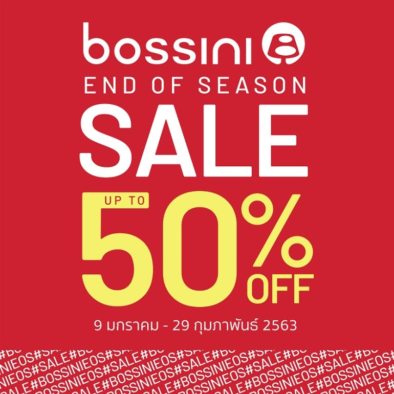 BOSSINI END OF SEASON SALE 13 -