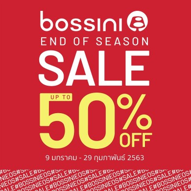 BOSSINI END OF SEASON SALE 14 -