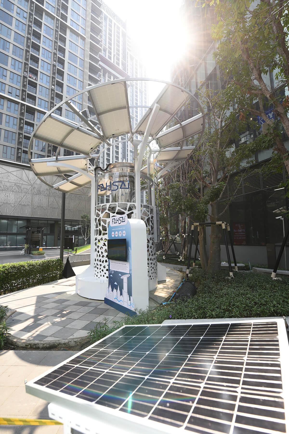 "RISC โดย MQDC นำร่องอสังหาฯ รายแรกของไทย เปิดตัวต้นแบบหอฟอกอากาศระดับเมือง ""ฟ้าใส"" ตอกย้ำแนวคิด 'for all well-being' 14 - 101 True Digital Park"
