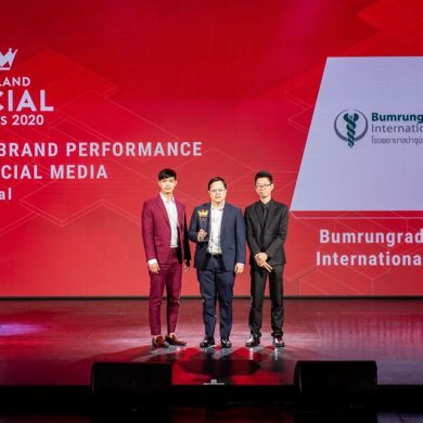 โรงพยาบาลบำรุงราษฎร์ ได้รับการยกย่องให้เป็น Best Brand Performance on Social Media ของกลุ่มโรงพยาบาล ในงานประกวดรางวัล Thailand Zocial Awards 2020 16 -