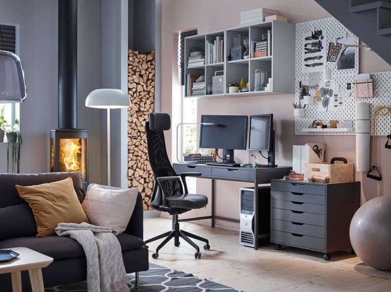 ไอเดียจัดพื้นที่ทำงานในบ้านให้ Work From Home แบบมีประสิทธิภาพ 22 - IKEA (อิเกีย)