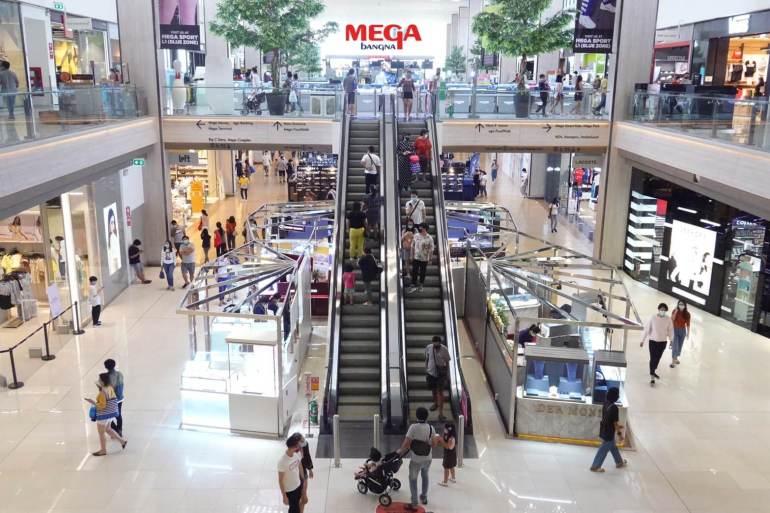 """เมกาบางนา พร้อมเปิดให้บริการต้อนรับลูกค้า จัดเข้มมาตรการ """"ห่างกันอย่างโปร"""" ช็อปปิ้งอย่างปลอดภัยแบบมีระยะ 14 - Megabangna (เมกาบางนา)"""