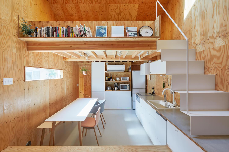 บ้านกล่องนม Milk Carton House ณ Tokyo หน้ากว้างเพียง 3.5 เมตร แต่สเปซภายในครบครัน 15 - Akihide MISHIMA
