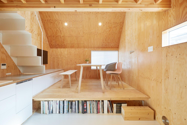 บ้านกล่องนม Milk Carton House ณ Tokyo หน้ากว้างเพียง 3.5 เมตร แต่สเปซภายในครบครัน 16 - Akihide MISHIMA