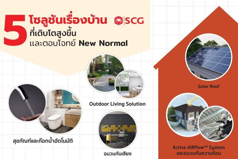SCG เปิดสถิติพฤติกรรมคนไทย และความต้องการด้านบริการปรับปรุงบ้าน ที่เติบโตในช่วง Lock Down พร้อมตอบโจทย์ชีวิต New Normal 13 - scg