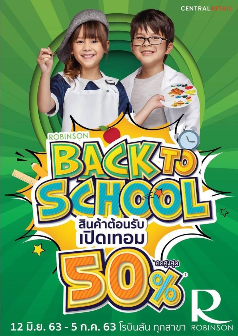 'ROBINSON BACK TO SCHOOL' 13 -
