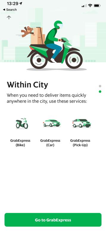 รีวิว GrabExpress อัปเกรดร้านค้าให้ส่งด่วนใน 40 นาที* ตามได้แบบ Real-time เริ่มแค่ ฿40 15 - delivery