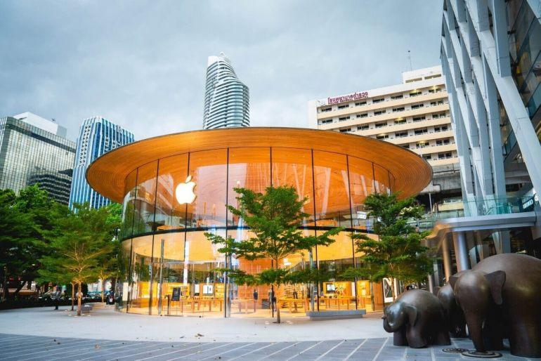 เซ็นทรัลเวิลด์ ต้อนรับ Apple Central World สาขาที่ใหญ่ที่สุดในไทย แลนด์มาร์คสำคัญของกรุงเทพฯ ด้วยเอกลักษณ์ของดีไซน์ที่ไม่ซ้ำแบบใครอย่างแท้จริง แม็กเน็ตใหม่ใจกลางแยกราชประสงค์ เปิดแล้ววันนี้ 16 -