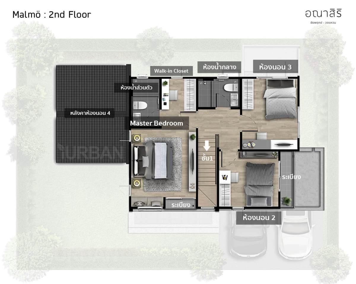 รีวิว อณาสิริ ชัยพฤกษ์-วงแหวน เมื่อแสนสิริออกแบบบ้านใหม่ Feel Just Right ใช้งานได้ลงตัว 98 - Anasiri