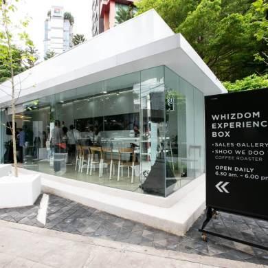 เจาะไลฟ์สไตล์นิวเจน ชอบนั่งชิลล์ เปิดจุดแฮงเอาท์แห่งใหม่ เอาใจเหล่าคอกาแฟกับไลฟ์สไตล์สุดฮิป Whizdom Experience Box ติด MRT ลาดพร้าว 14 -