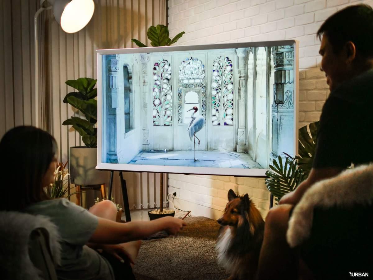 รีวิว 3 ทีวีที่สวยที่สุดเจนเนอเรชั่นนี้ The Frame The Serif และ The Sero 62 - decor
