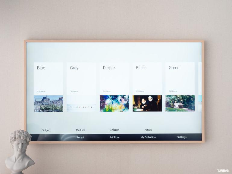 รีวิว 3 ทีวีที่สวยที่สุดเจนเนอเรชั่นนี้ The Frame The Serif และ The Sero 34 - decor