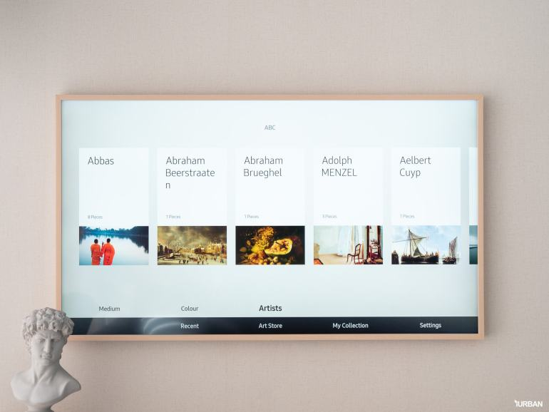 รีวิว 3 ทีวีที่สวยที่สุดเจนเนอเรชั่นนี้ The Frame The Serif และ The Sero 35 - decor