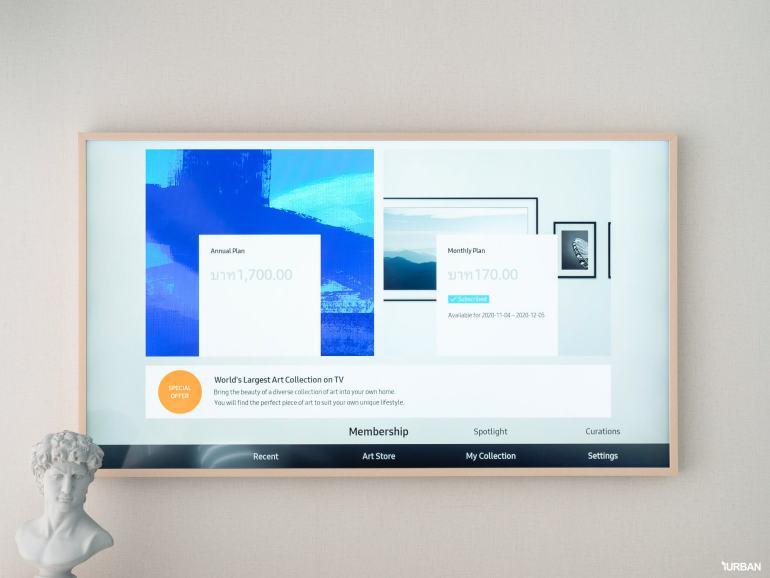 รีวิว 3 ทีวีที่สวยที่สุดเจนเนอเรชั่นนี้ The Frame The Serif และ The Sero 29 - decor