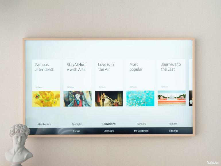 รีวิว 3 ทีวีที่สวยที่สุดเจนเนอเรชั่นนี้ The Frame The Serif และ The Sero 30 - decor