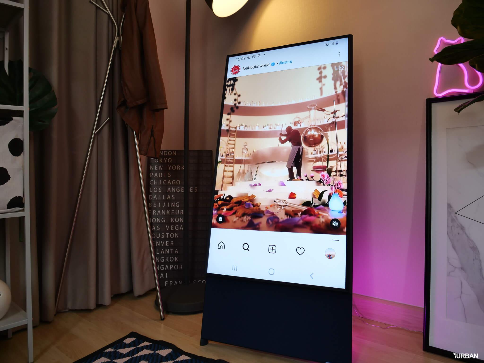รีวิว 3 ทีวีที่สวยที่สุดเจนเนอเรชั่นนี้ The Frame The Serif และ The Sero 89 - decor
