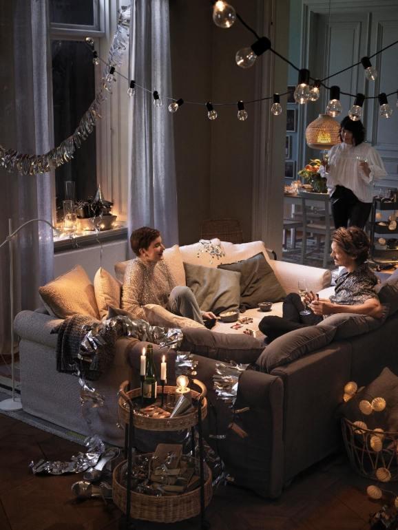 เตรียมจัดบ้านต้อนรับเทศกาลแห่งความสุขฉลองส่งท้ายปีเก่าต้อนรับปีใหม่ กับไอเดียที่ทำได้ง่ายๆ จากอิเกีย 15 - IKEA (อิเกีย)