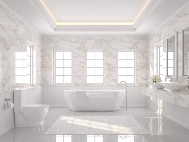 5 ไอเดียแต่งบ้านสไตล์ Luxury ด้วยกระเบื้องแผ่นใหญ่ ให้หรูหราดูแพงแต่งบเบาๆ 15 - Classic