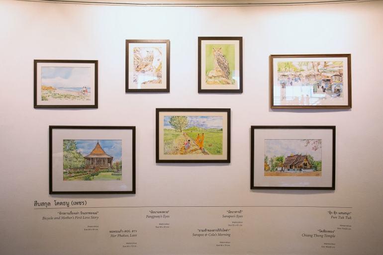 """เดอะ เรนโบว์ รูม จับมือหอศิลป์กรุงเทพฯ เชิญชมนิทรรศการศิลปะเพื่อความแตกต่าง """"Language of The Soul"""" 14 -"""
