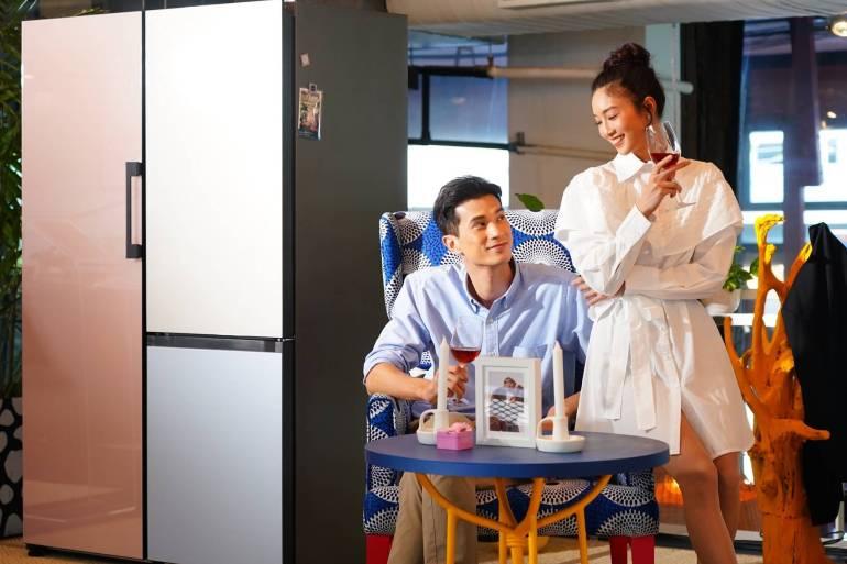 เปิดตัว SAMSUNG BESPOKE ตู้เย็นฉีกกฏดีไซน์ คัสตอมได้ตามสไตล์คุณ 20 - Design