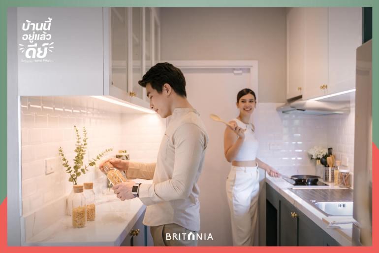 """""""บริทาเนีย"""" เปิดแคมเปญ """"บ้านนี้อยู่แล้วดีย์"""" จัดเต็ม Living Solution ด้วยฟังก์ชันและบริการเสริมใส่ใจสุขภาพ 18 - BRITANIA"""