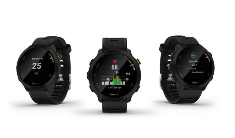 """""""การ์มิน"""" พลิกโฉมนิยามใหม่ของนาฬิกาวิ่ง เปิดตัว """"FORERUNNER 55"""" จีพีเอส สมาร์ทวอทช์ ที่พร้อมสนับสนุนให้การวิ่งเป็นนิวแฮบิท 18 - Garmin"""