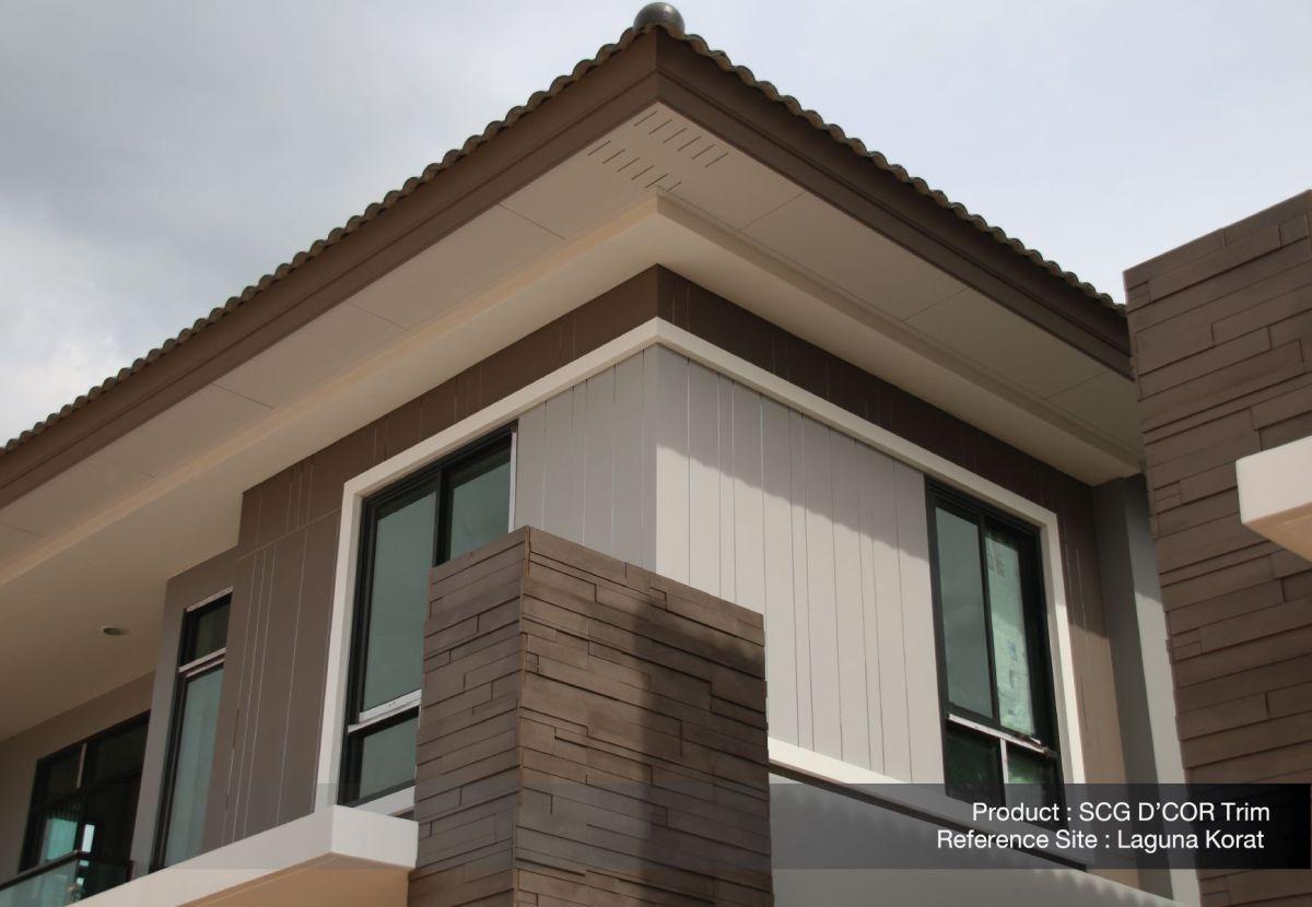 ใส่ใจทุกรายละเอียด เพื่อให้บ้านสวยเนี้ยบ ทางเลือกเพื่อบ้านเรียบร้อย กับ SCG D'COR Trim 16 - SCG (เอสซีจี)