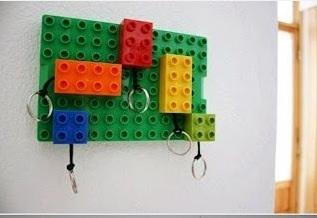 DIY ที่แขวนกุญแจ และพวงกุญแจจาก Lego 13 - Lego