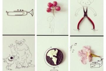 ฝึกสร้างจินตนาการ จากสิ่งของใกล้ๆตัว บวกกับการวาดภาพง่ายๆ 12 -
