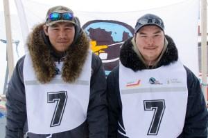 7 - Racer: Willie Cain Jr. <br>  Partner: Daniel Cain Annahatak <br>  Community: Tasiujaq