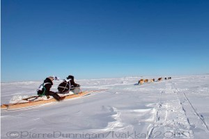 Ivakkak 2017Umiujaq Inukjuak - Team 11, Willie Cain, and Putulik Cain Saunders