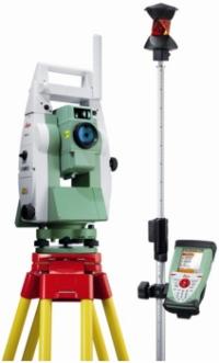 Leica Viva TS12 robot-tahhümeetrid
