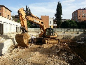 the bulldozing is  now over!