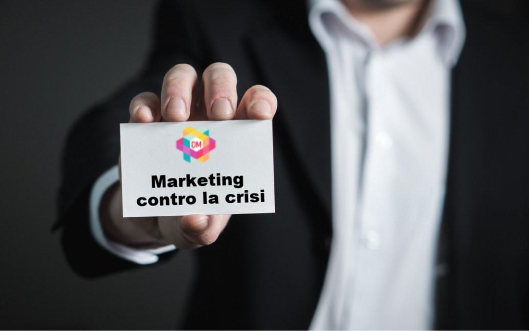 marketing contro la crisi