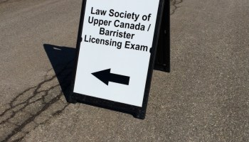 I Passed the Ontario Bar Exams  How Many Failed? We Don't