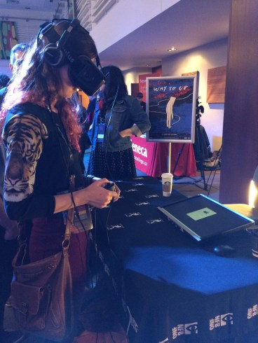 VR and AR exhibit at FITC Toronto 2015