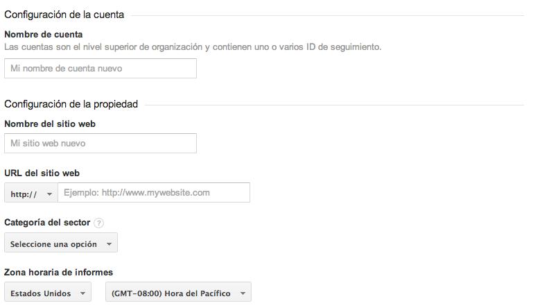 google analytics instalacion