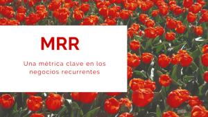 MRR una métrica clave en los negocios recurrentes