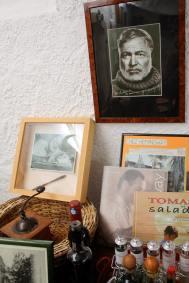Ernest Hemingway in Mouriès
