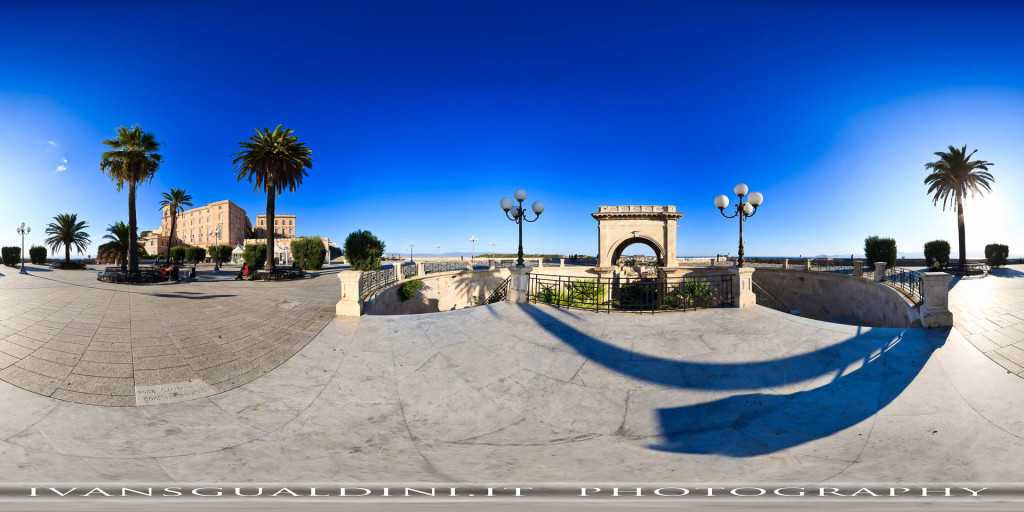 Sardegna > Cagliari > Bastione di Saint Remy