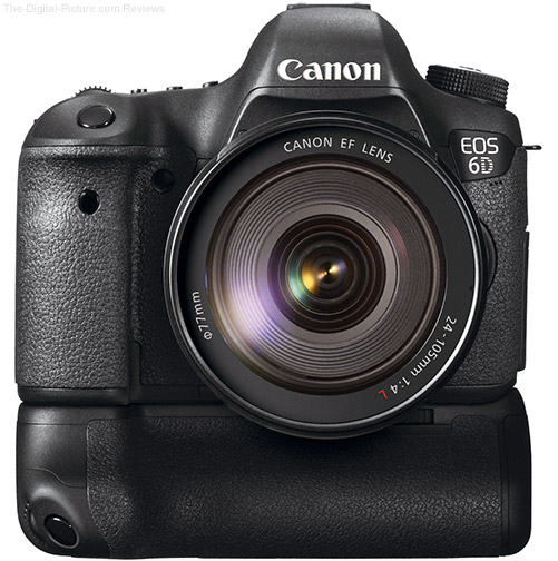Canon Eos-6d + battery grip