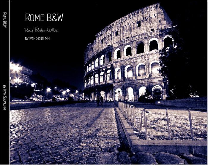 Libro fotografico Roma B&W