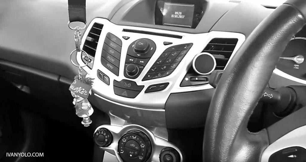 A Little SQ Demo on Ford Fiesta Car Audio Part 1