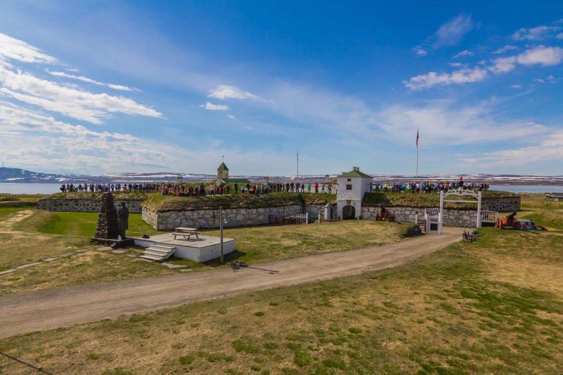 Vardøhus er verdens nordligste festning