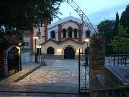Church in Metamorfosis, Greece