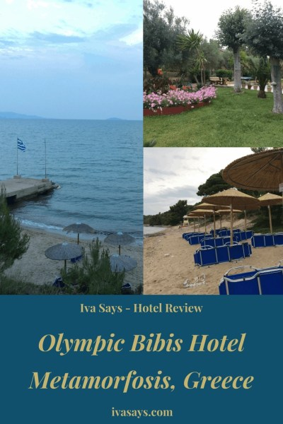 A hotel review of Olympic Bibis Hotel in Metamorfosis (Sithonia) Greece.